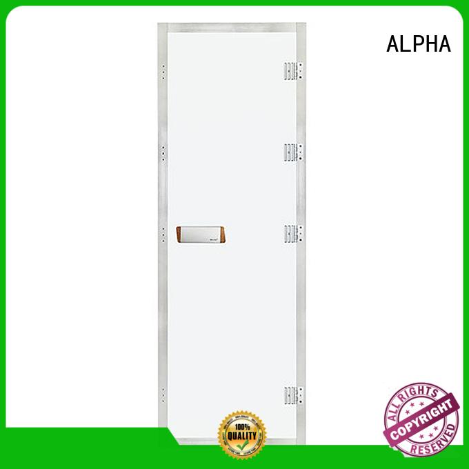 ALPHA Brand glass room windown sauna door manufacture