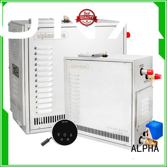 Custom duty sauna machine conversation ALPHA