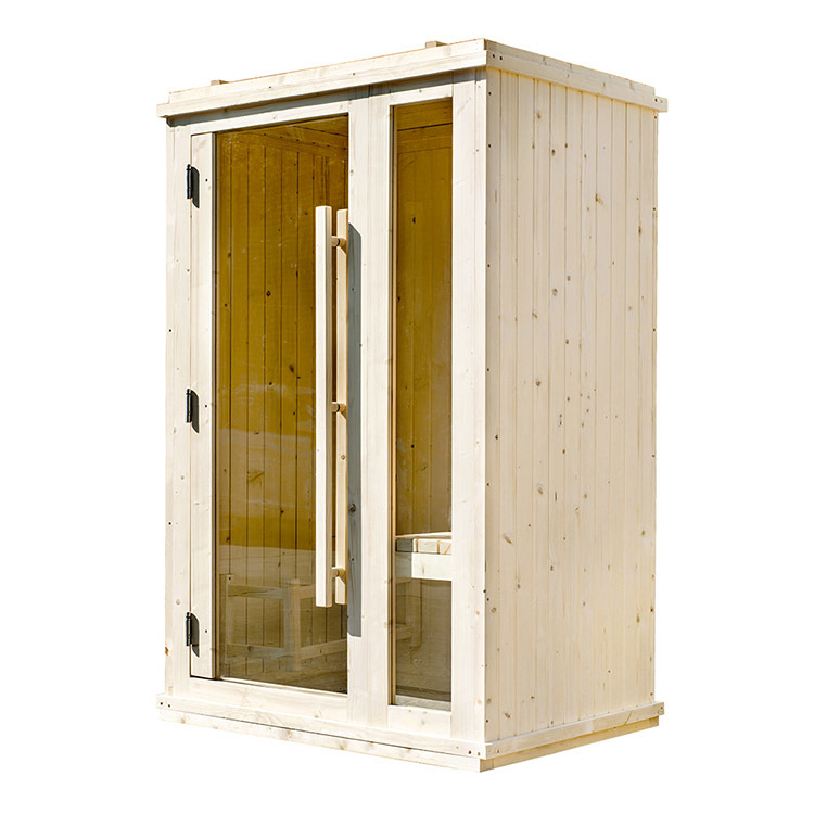 Indoor Sauna Room With 38MM thickness Wall panel 1800*1800*2100(L*W*H) Indoor Solid