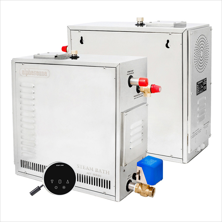 steam bath generator with waterproof and touch controller Heavy Duty Stainless steel