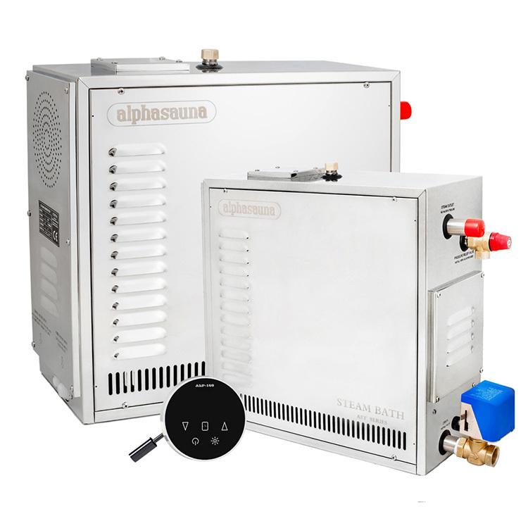 Steam Bath Generator Heavy Duty Luxury Version 12KW220V-415V Sauna Bath Steamer