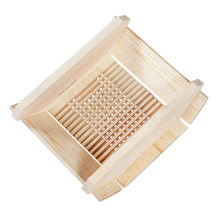 Sauna Wood Lamp Shade Leisure White Spruce Handicraft
