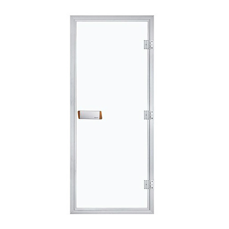 Sauna Doors Aluminium/Tempered Glass For Wet Steam Bath Room1890*690*80MM