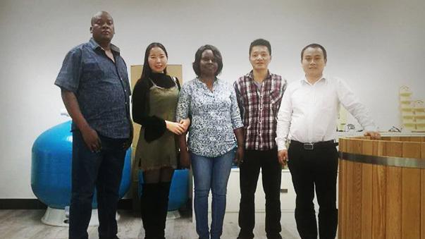 Kenya customer visit