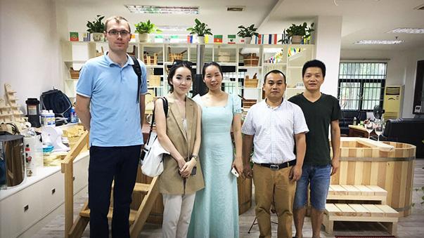 Ukraine customer visit