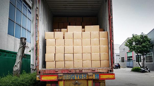 Sauna accessories loading container