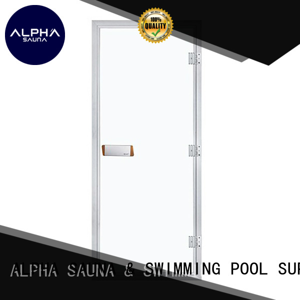 finnish red pine doors ALPHA Brand sauna door supplier