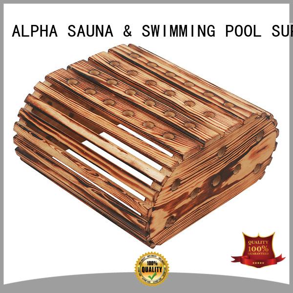 white compact light aspen sauna room accessories ALPHA Brand