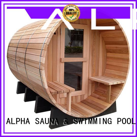 cheap garden table and chairs sauna cedar ALPHA Brand