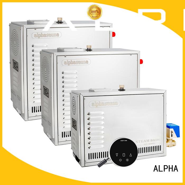 stainless energy sauna machine bath ALPHA Brand