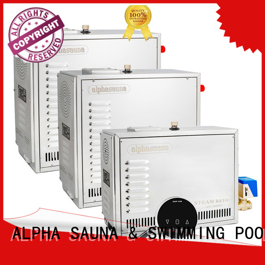 sauna steam generator luxury touch ALPHA Brand sauna machine