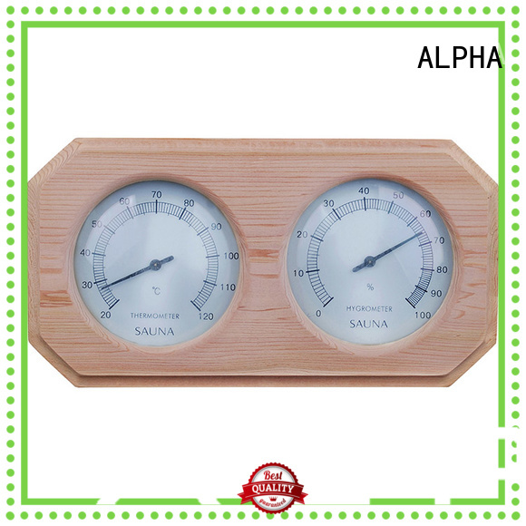 ALPHA Brand white alphasauna custom thermometer sauna