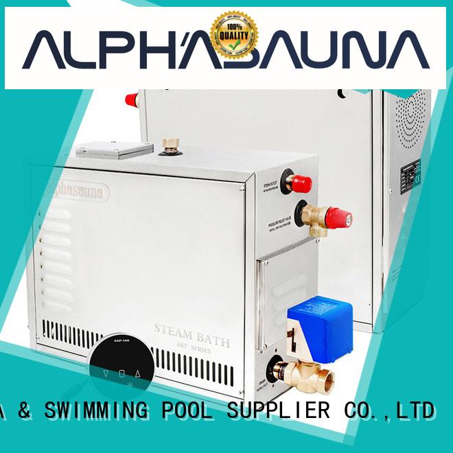 sauna steam generator bath energy duty Warranty ALPHA