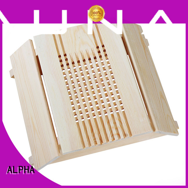 spruce cover wooden lampshade wooden ALPHA company