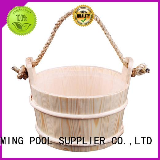 wooden sauna bucket plasticliner sauna ladle ALPHA Brand