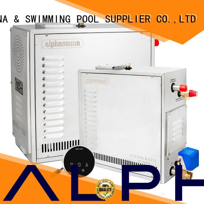 Quality ALPHA Brand 45kw stainless sauna machine