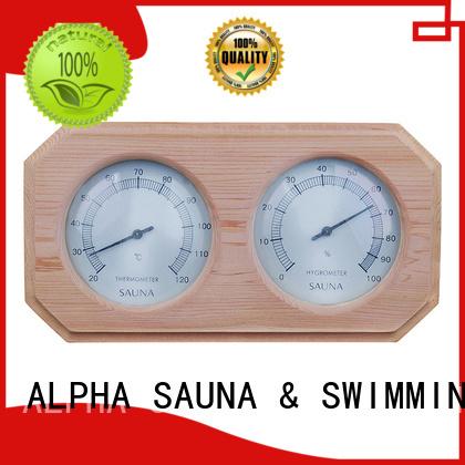angled Custom hygrometer sauna thermometer thermometer ALPHA