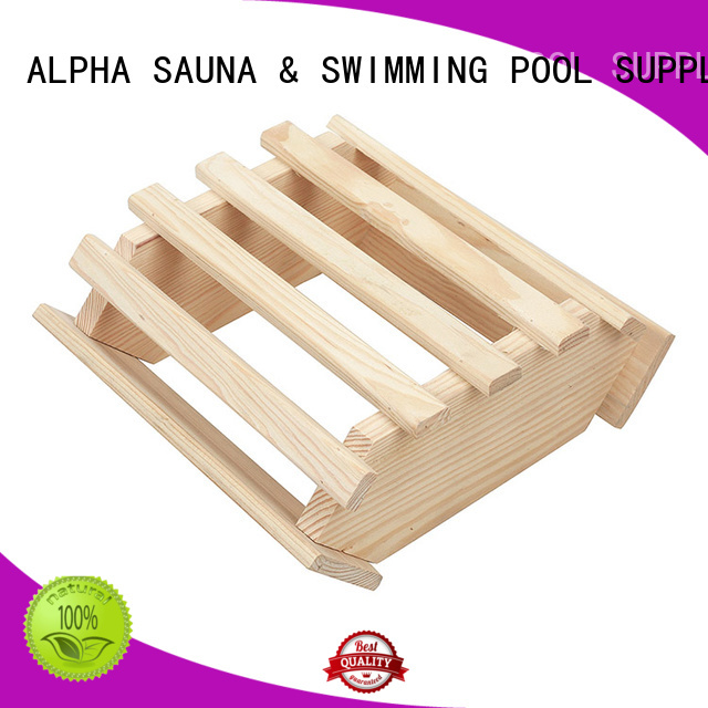 sauna room accessories cover compact wooden lampshade ALPHA Brand