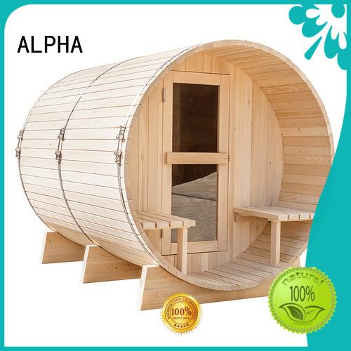 outdoor heater OEM outdoor sauna ALPHA