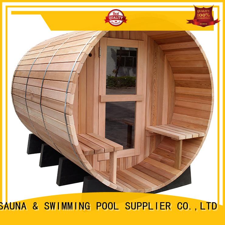 branded Custom wood white sauna thermometer ALPHA temperature