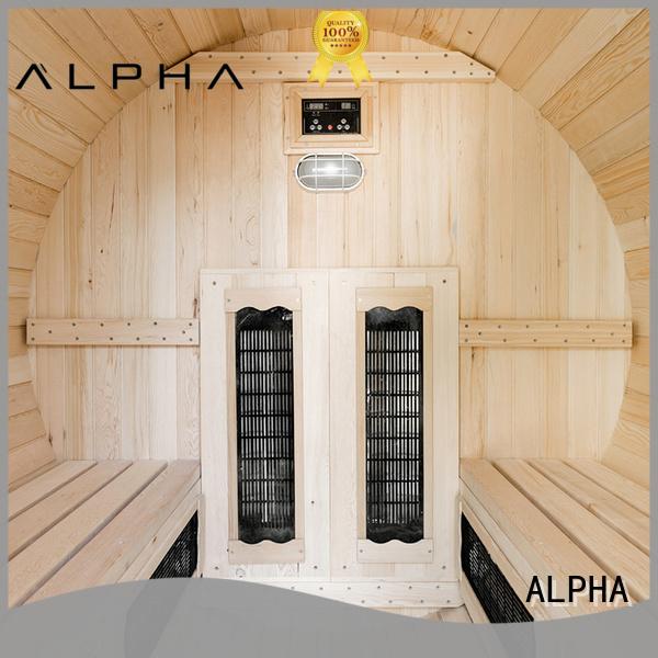 electrical outdoor harvia outdoor sauna person ALPHA