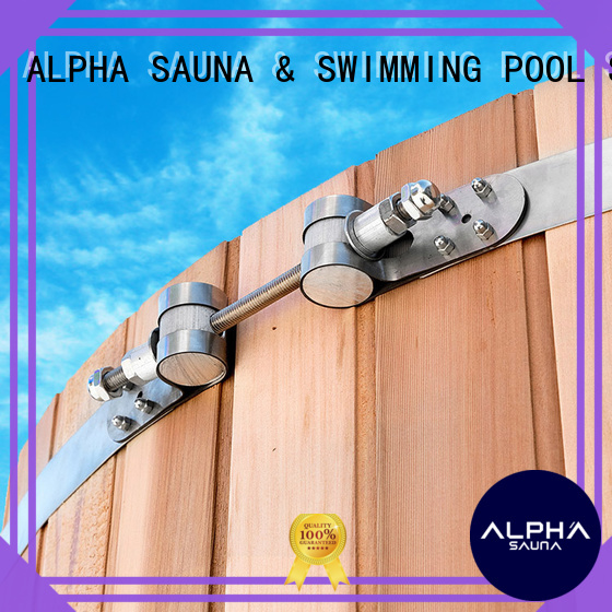 ALPHA Brand stainless wooden metal adjustable clamps tub supplier