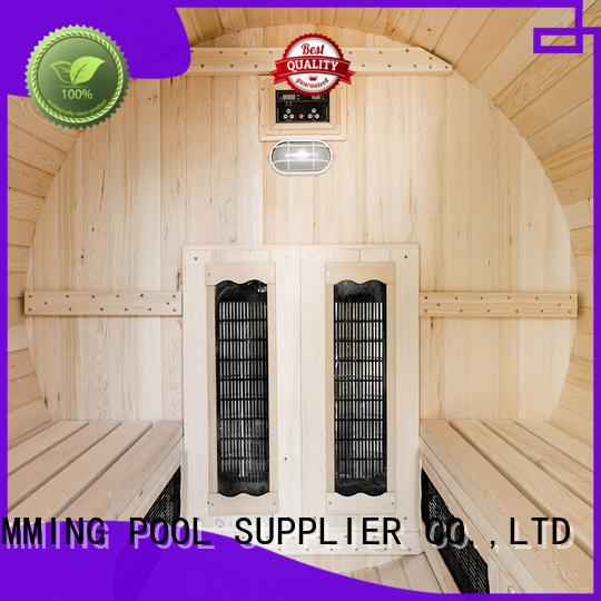 electrical barrel ALPHA Brand outside sauna