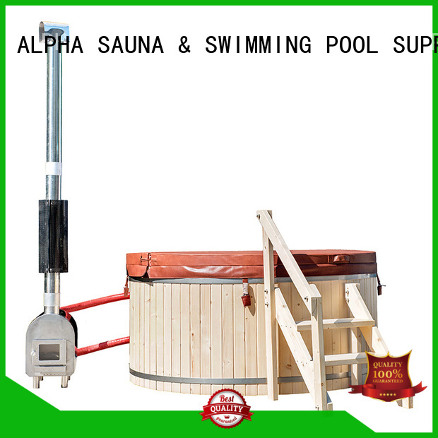 outdoor wooden hot tub outdoor come ALPHA Brand