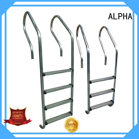 ALPHA Brand pool turn abs pool stairs manufacture