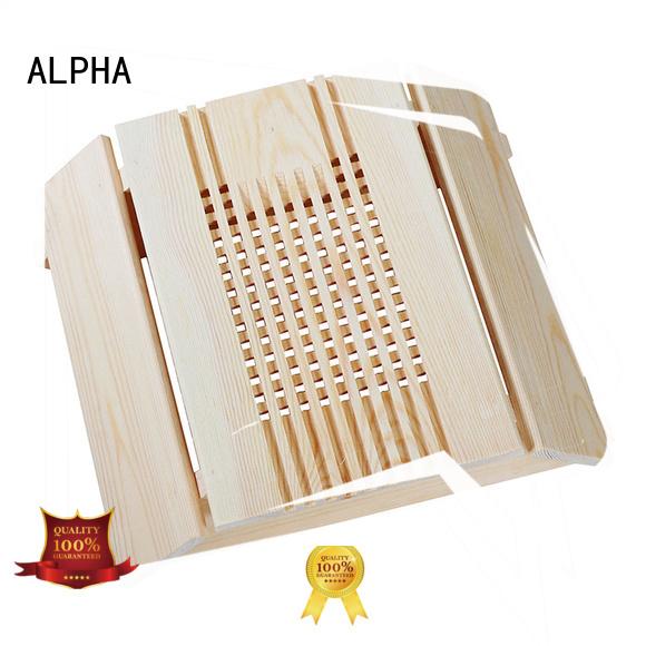 carbonizing corner sauna room accessories light shade ALPHA Brand