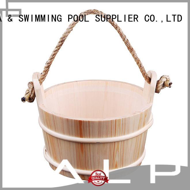 Hot wooden bucket red ALPHA Brand