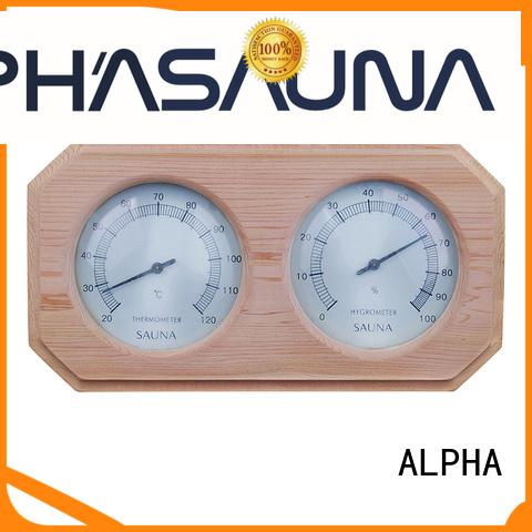 thermometer sauna cedar white sauna thermometer hygrometer company