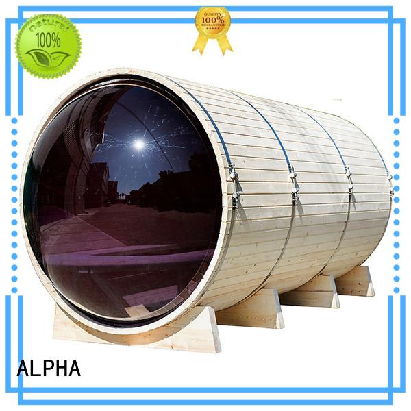 ALPHA Brand outdoor kw custom outdoor steam sauna