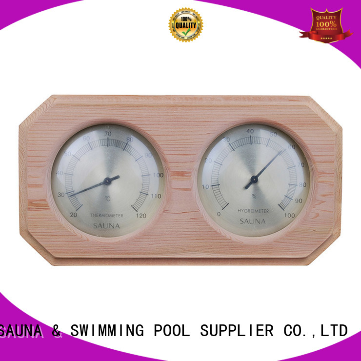 thermometer sauna branded shape sauna thermometer white ALPHA Brand
