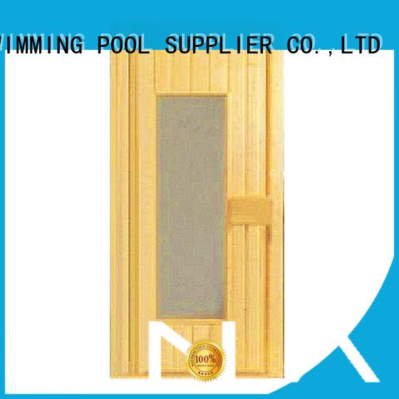 hinges wooden sauna wood door ALPHA Brand