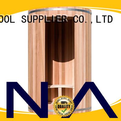 ALPHA Brand barrel wall indoor sauna for sale