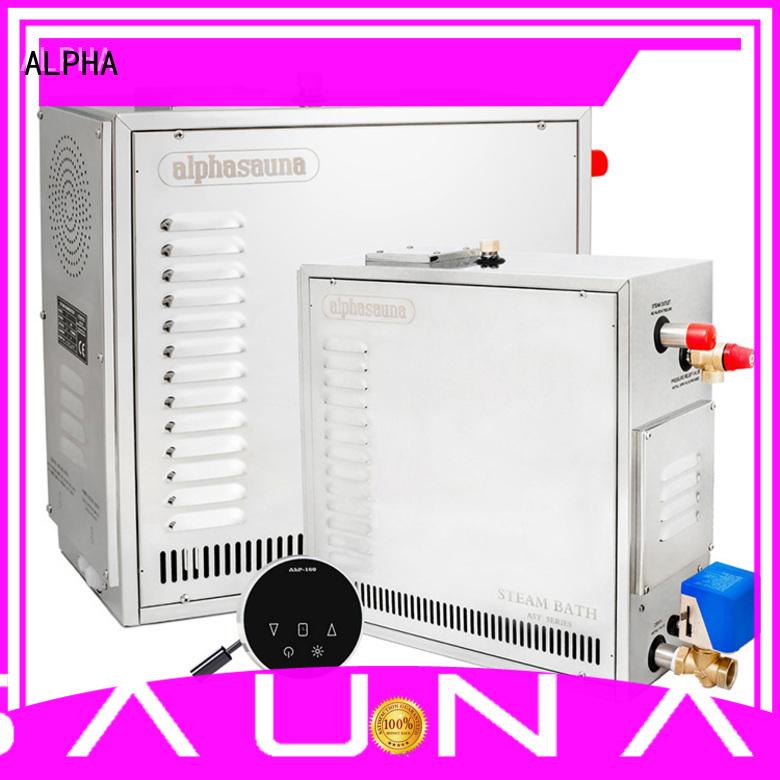 Hot sauna steam generator luxury ALPHA Brand