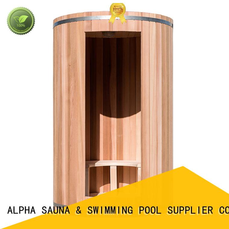 solid quality indoor sauna sauna ALPHA Brand company