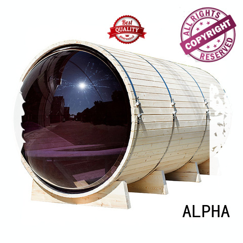 ALPHA Brand outdoor porch outdoor steam sauna sauna