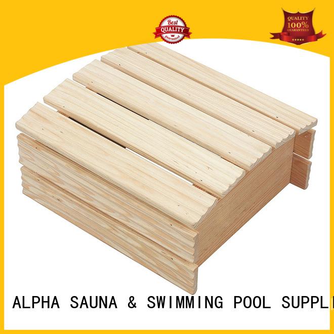 ALPHA Brand compact pine cover sauna room accessories