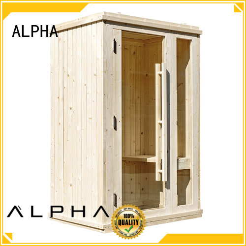 barrel silo indoor sauna insulation ALPHA Brand