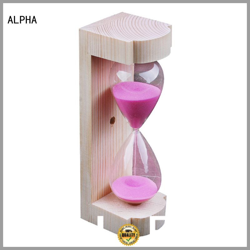 ALPHA Brand black minutes luxury sand timer