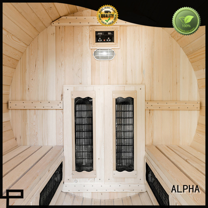 Wholesale person sauna outdoor sauna ALPHA Brand