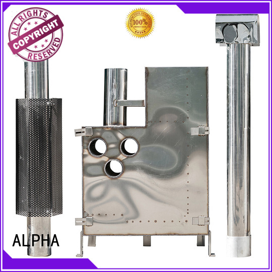 wooden wood fired stainless ALPHA Brand sauna wood stove supplier