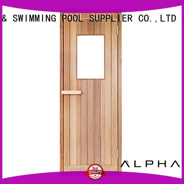 cedar door toughened sauna door ALPHA Brand