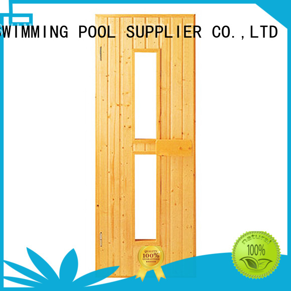 windown Custom steam glass sauna door ALPHA frame