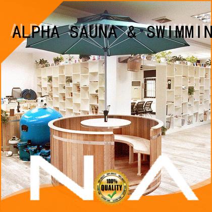 solid western outdoor sauna room ALPHA Brand