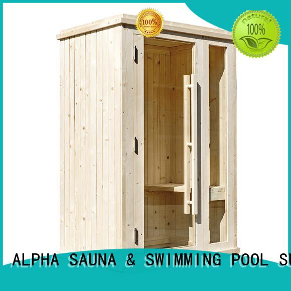 wood solid indoor sauna no ALPHA