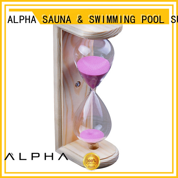 color mounting OEM hourglass sand timer ALPHA