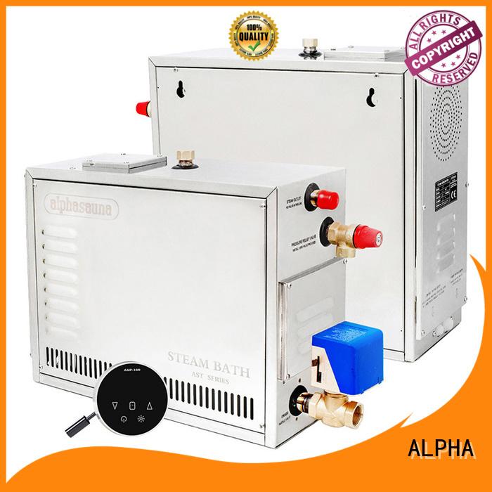 ALPHA Brand steel controller sauna machine manufacture
